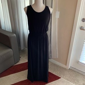 Michael By Michael Kors Black Maxi Dress